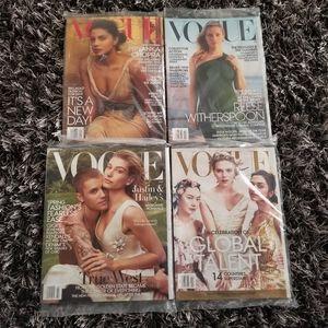 Vogue Lot of 4